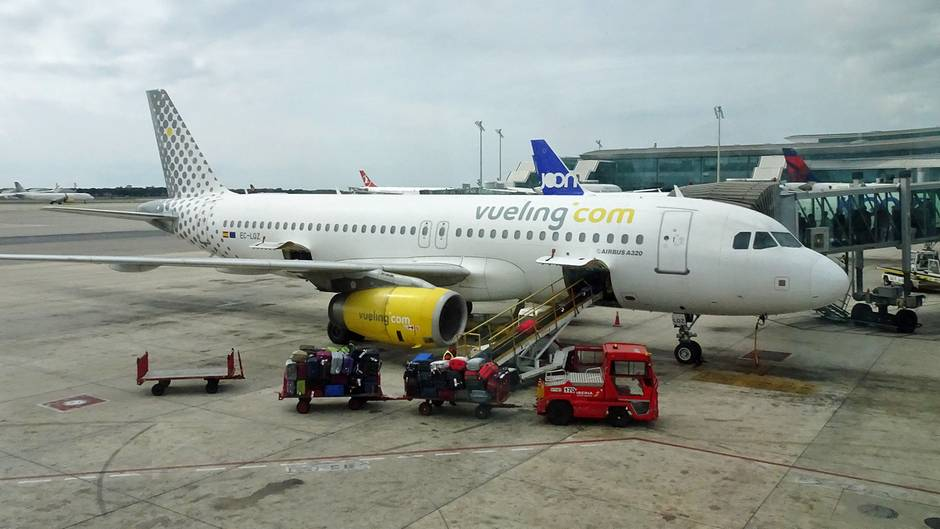 Airbus A320 der Vueling