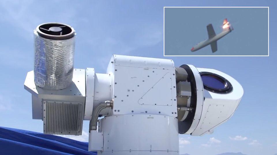 Drohnen-Killer Athena: US-Luftwaffe testet neue Laserkanone