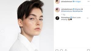 Vip News: GNTM-Gewinnerin Céline Bethmann mit neuem Look