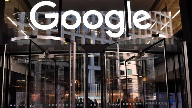 Eingang des Google-Büros in London