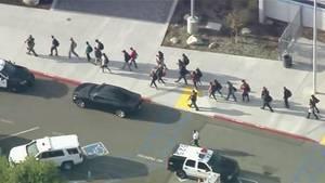 An der Saugus Highschool in Santa Clarita, Kalifornien sind Schüsse gefallen
