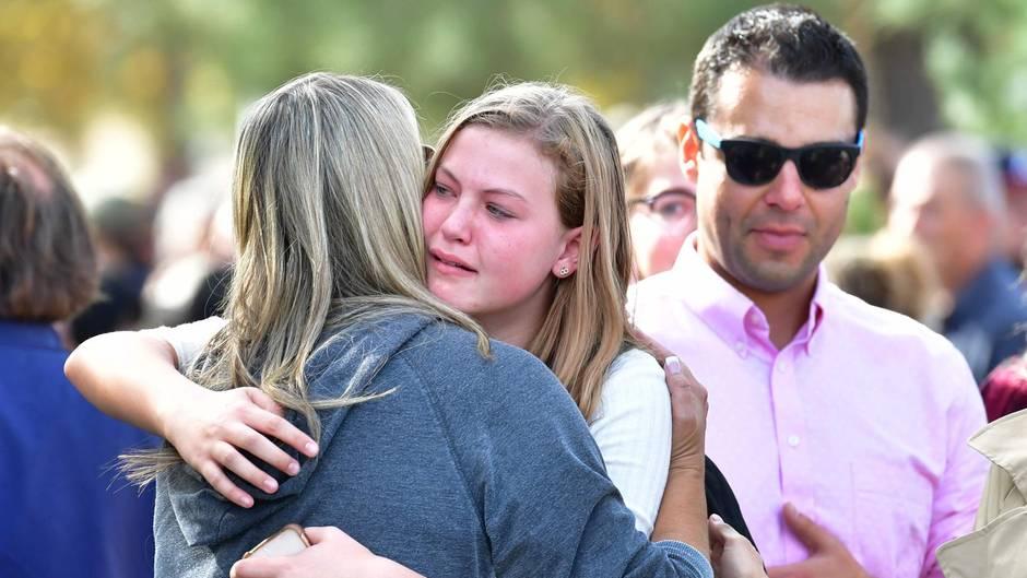 Schüsse an High School in den USA
