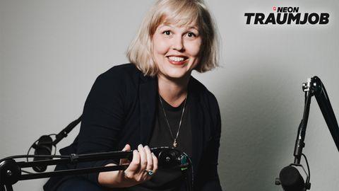Podcast-Produzentin Maria Lorenz erzählt von ihrem Traumjob