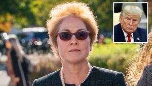 Marie Yovanovitch und Donald Trump