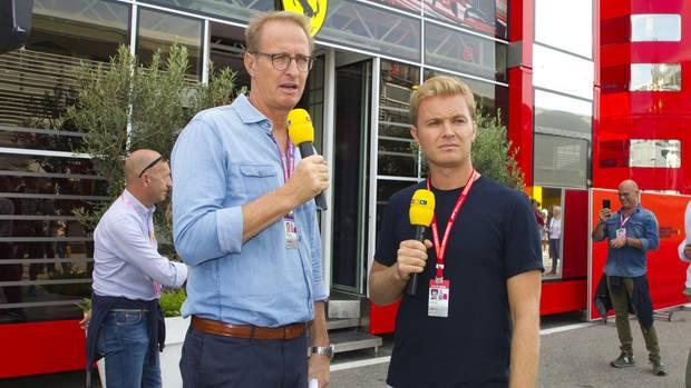 Nico Rosberg und Florian König