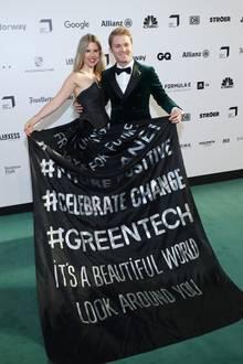 Nico Rosberg und Ehefrau Vivian Sibold