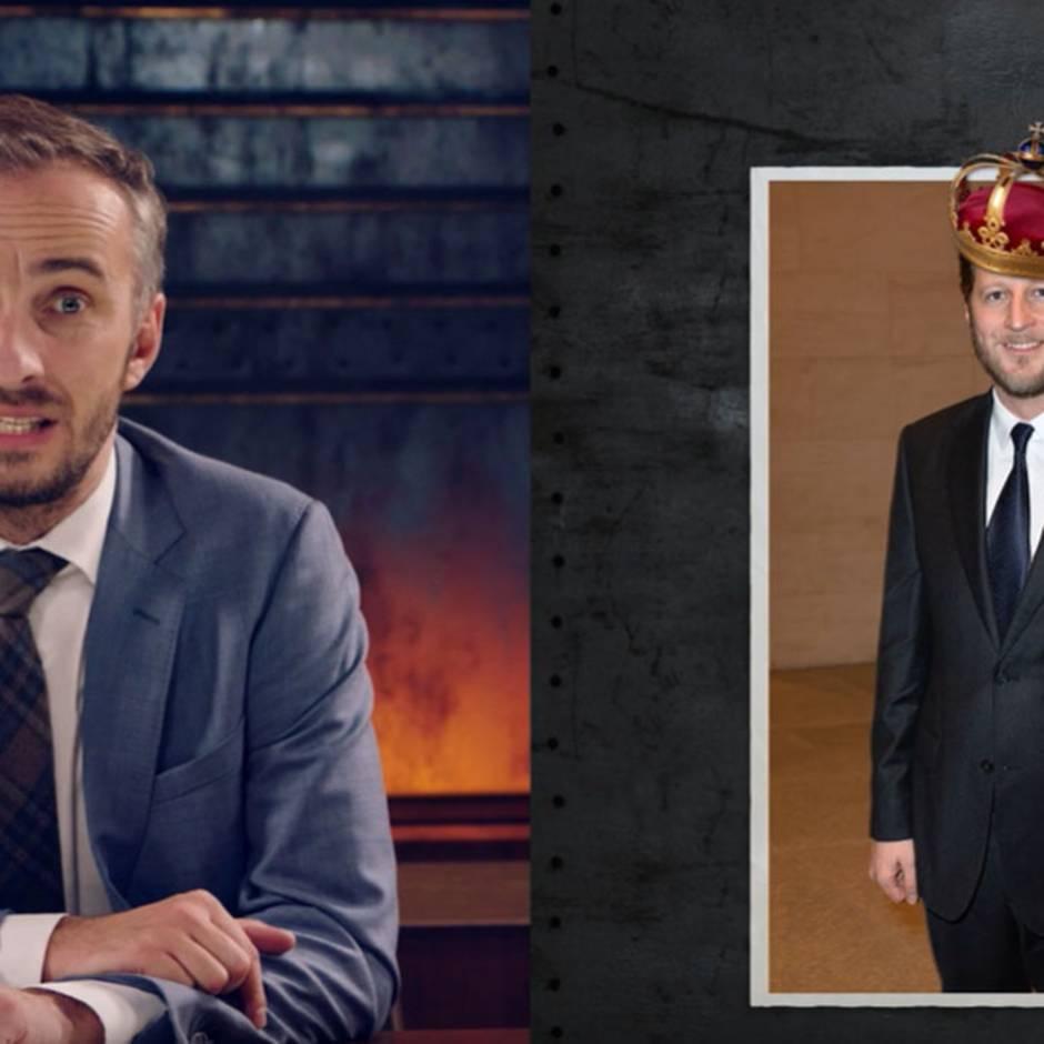 """""""Neo Magazin Royale"""": Jan Böhmermann knöpft sich den Preußen-Prinz vor - doch eigentlich geht es ihm um etwas anderes"""