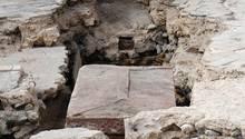 Sarkophag in der Johanniskirche