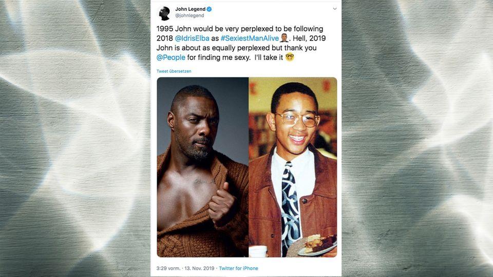 John Legend und Idris Elba