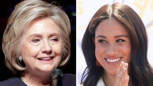 Herzogin Meghan und Hillary Clinton