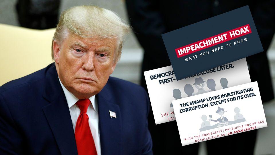 Impeachment-Ermittlungen: Weitere Zeugenaussagen: Druck auf Trump in Ukraine-Affäre wächst