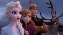 """In """"Die Eiskönigin 2"""" wollen Elsa, Anna und Kristoff das Geheimnis ihres Königreichs lüften"""