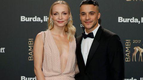 Janin und Kostja Ullmann bei der Bambi-Verleihung 2017