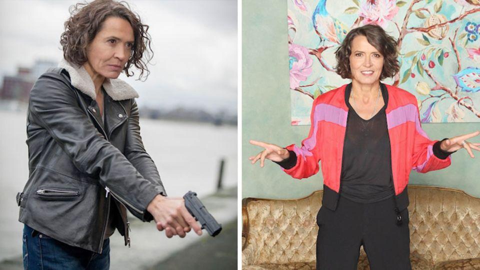 Ulrike Folkerts spielt seit 30 Jahren die Kommissarin im Ludwigshafener Tatort