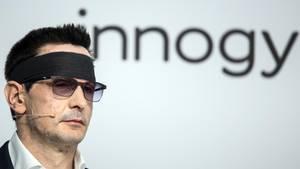 Innogy-Manager Bernhard Günther nach dem Säureangriff