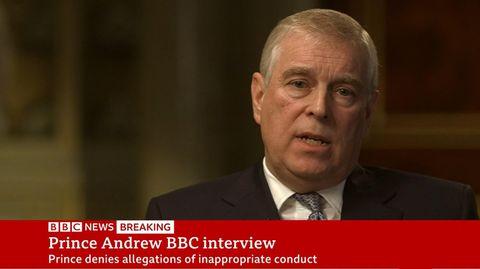 Prinz Andrew im BBC-Interview