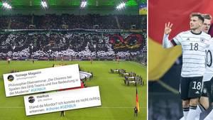 Deutschland gegen Weißrussland: Fans zerreißen DFB-Choreo – und weisen auf gewaltiges Problem hin