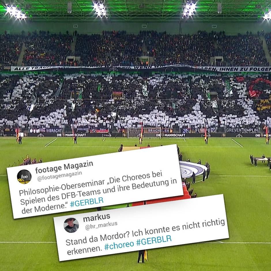 Deutschland Gegen Weissrussland Fans Zerreissen Dfb Choreo