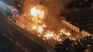 Angriff in Hongkong