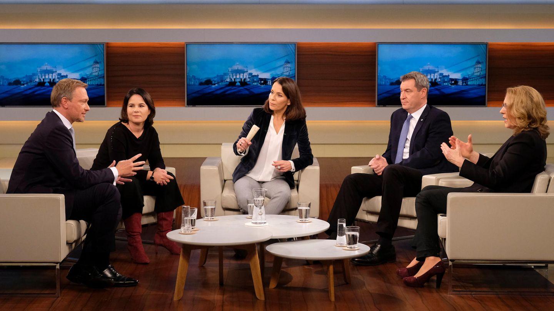 Anne Will und ihre Gäste