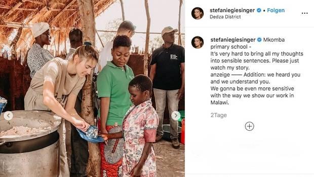 Giesinger auf Stefanie wird Instagram 0P8kXnwO