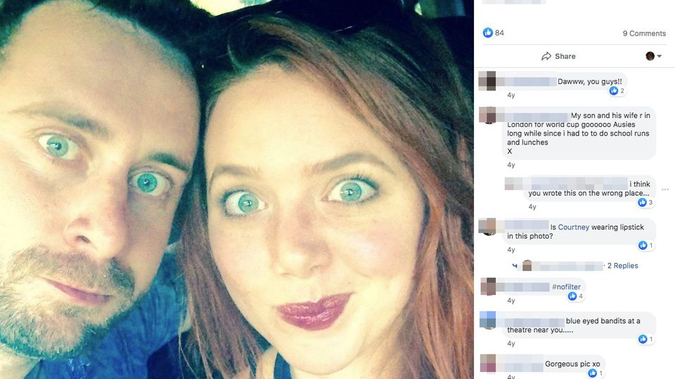 Courtney Cassar und Laura Sheldon auf einem Selfie bei Facebook