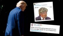 Twitter-Nutzer spekulieren über Trumps Krankenhaus-Aufenthalt