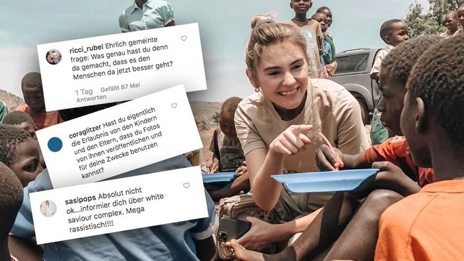 Stefanie Giesinger und Instagram Kommentare
