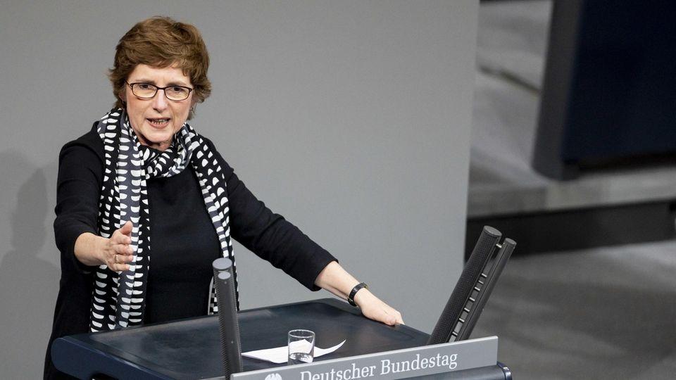 Britta Haßelmann, erste parlamentarische Geschäftsführerin der Grünen
