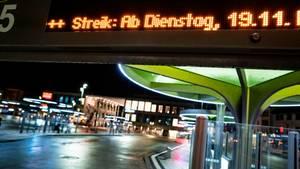 Auch im hessischen Hanau fallen am Dienstag zahlreiche Buslinien aus