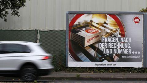 Werbeverbot für Zigaretten