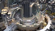 Ein Modell desTokamak-Reaktors.
