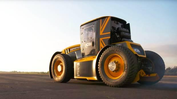 Fastrac: Das ist der schnellste Traktor der Welt