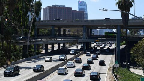 Autoverkehr in Los Angeles