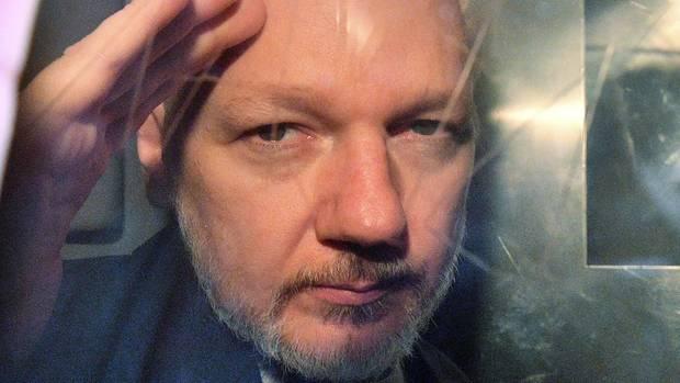 Der WikiLeaks-Gründer Julian Assange
