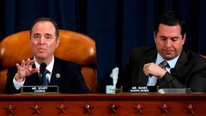 Impeachment: Komitee-Chef Adam Schiff, Ausschusschef Devin Nunes