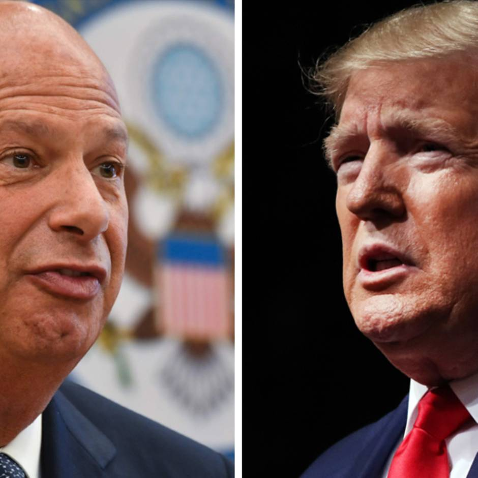 Amtenthebungsverfahren: Schlüsselfigur Gordon Sondland: Donald Trumps Eine-Million-Dollar-Botschafter