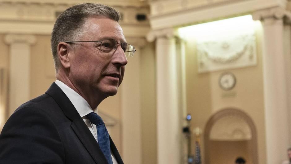 """Früherer US-Sonderbeauftragter für die Ukraine, Kurt Volker, bei der Impeachment-Anhörung: """"Zusammenhang zwischen Biden-Ermittlungen und Militärhilfe war mir nicht bewusst."""""""