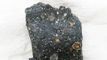 Ein Fragment des Murchison Meteoriten