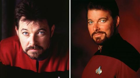 """Jonathan Frakes als William Riker in """"Raumschiff Enterprise – Das nächste Jahrhundert"""""""