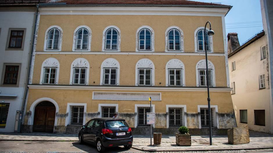 Das ehemalige Geburtshaus von Hitler in Braunau wird zur Polizeistation