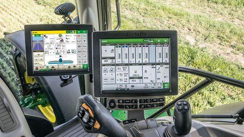 """Autonomes Fahren ist kein """"Neuland"""" auf dem Acker. Blick ins Cockpit eines Traktors-"""