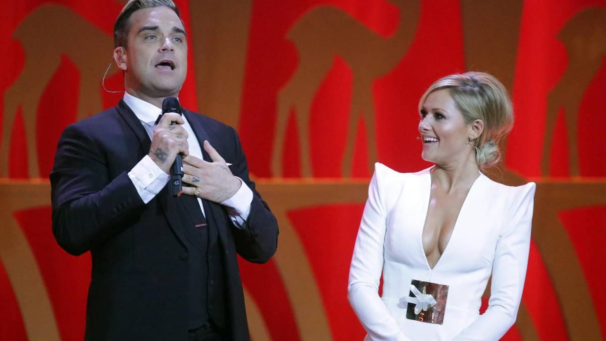 """""""Santa Baby""""-Cover: Helene Fischer und Robbie Williams im sexy Duett: So klingt ihr Song"""