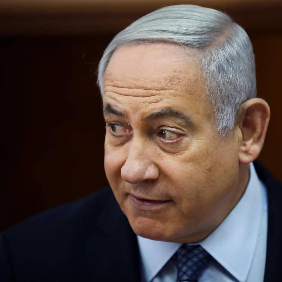 """Israel: Netanjahu nennt Anklage wegen Korruption """"versuchten Putsch"""""""
