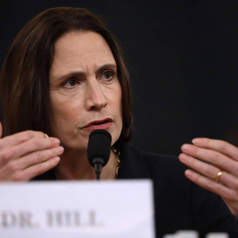Die Morgenlage: Zeugin Fiona Hill weist Trump-Theorie zur Ukraine zurück