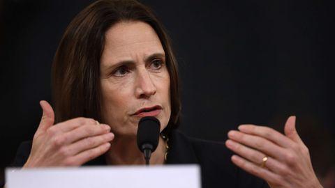 Fiona Hill bei ihrer Aussage im Kapitol in Washington D.C.