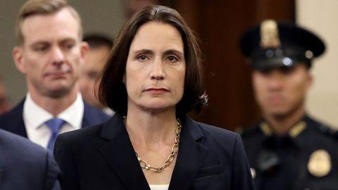 Sicherheitsexpertin Fiona Hill wurde als Zeugin der Impeachment-Anhörung befragt