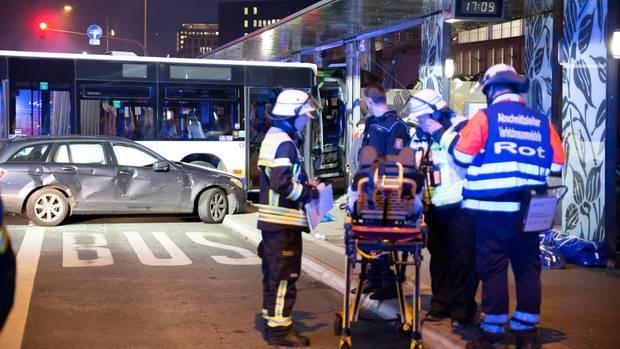 nachrichten deutschland - busunfall wiesbaden