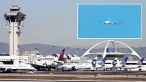 Los Angeles: Boeing 777 muss notlanden – Feuer im Triebwerk
