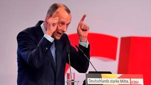 Friedrich Merz (CDU) spricht beim CDU-Bundesparteitag